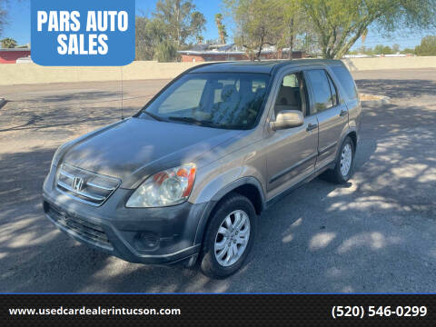 2005 Honda CR-V for sale at PARS AUTO SALES in Tucson AZ