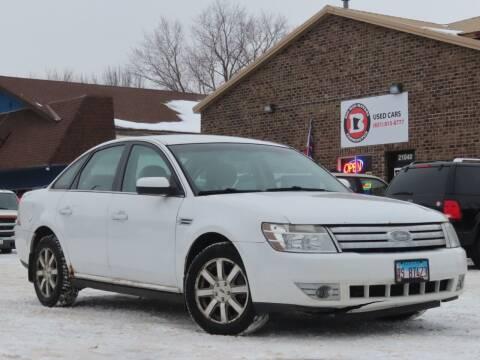2008 Ford Taurus for sale at Big Man Motors in Farmington MN