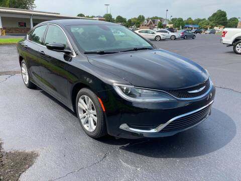 2015 Chrysler 200 for sale at McCully's Automotive in Benton KY