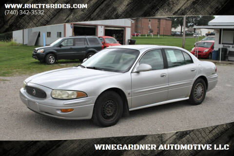 2002 Buick LeSabre for sale at WINEGARDNER AUTOMOTIVE LLC in New Lexington OH
