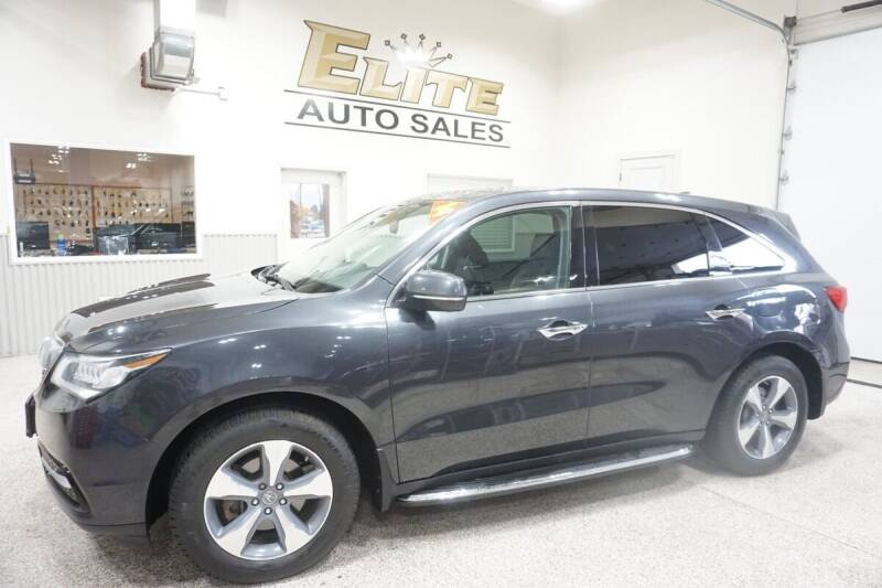 2014 Acura MDX for sale at Elite Auto Sales in Ammon ID