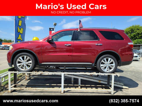 2013 Dodge Durango for sale at Mario's Used Cars - South Houston Location in South Houston TX