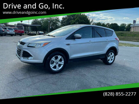 2013 Ford Escape for sale at Drive and Go, Inc. in Hickory NC