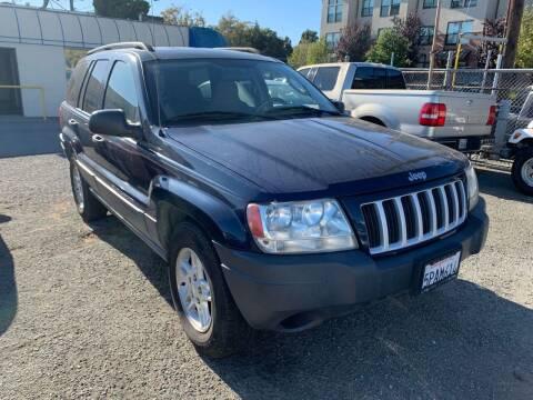 2004 Jeep Grand Cherokee for sale at AUCTION SERVICES OF CALIFORNIA in El Dorado CA