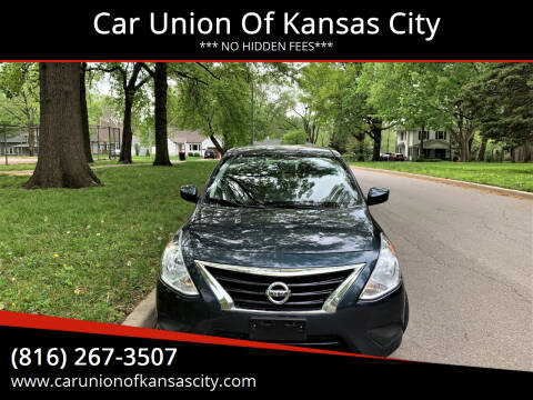 2016 Nissan Versa for sale at Car Union Of Kansas City in Kansas City MO