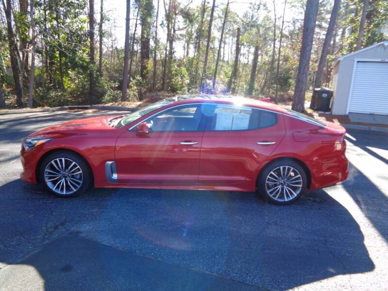 2019 Kia Stinger for sale at BALKCUM AUTO INC in Wilmington NC