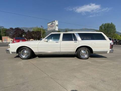 1988 Chevrolet Caprice for sale at Classic Car Deals in Cadillac MI