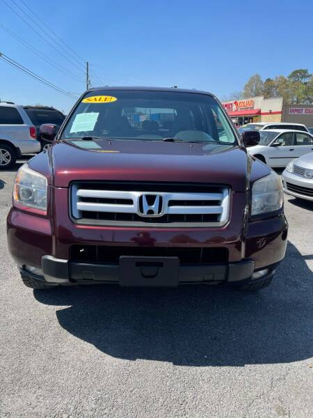 2008 Honda Pilot for sale at SRI Auto Brokers Inc. in Rome GA