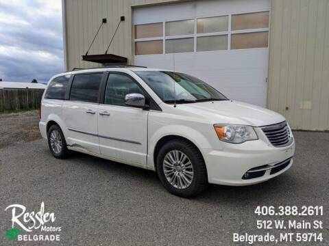 2011 Chrysler Town and Country for sale at Danhof Motors in Manhattan MT
