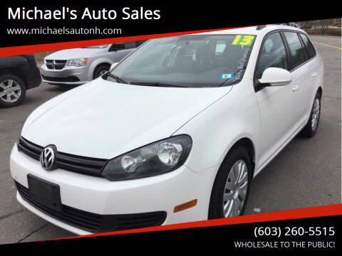 2013 Volkswagen Jetta for sale at Michael's Auto Sales in Derry NH