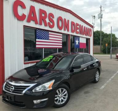 2015 Nissan Altima for sale at Cars On Demand 3 in Pasadena TX