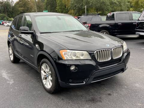 2012 BMW X3 for sale at Luxury Auto Innovations in Flowery Branch GA