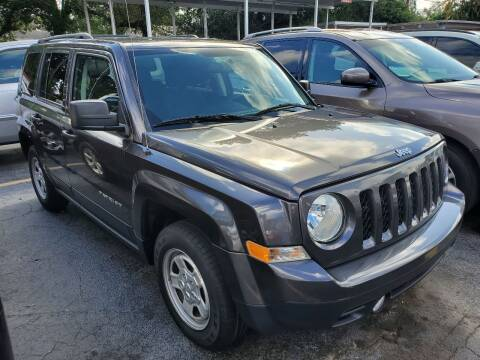 2016 Jeep Patriot for sale at America Auto Wholesale Inc in Miami FL
