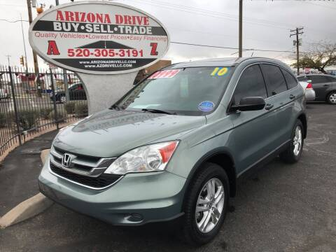 2010 Honda CR-V for sale at Arizona Drive LLC in Tucson AZ