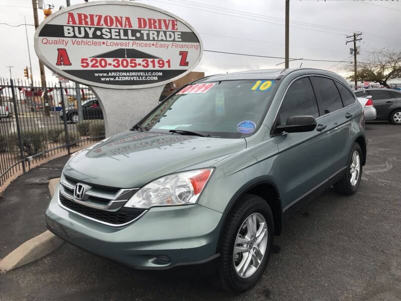 2010 Honda CR-V for sale at Arizona Drive LLC in Tucson AZ