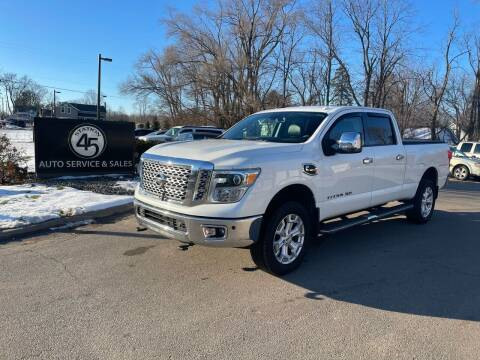 2016 Nissan Titan XD for sale at Station 45 Auto Sales Inc in Allendale MI