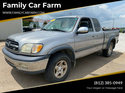 2002 Toyota Tundra for sale at Family Car Farm in Princeton IN