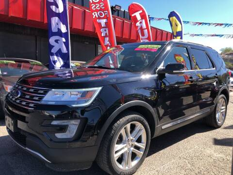 2017 Ford Explorer for sale at Duke City Auto LLC in Gallup NM