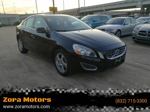 2012 Volvo S60 for sale at Zora Motors in Houston TX