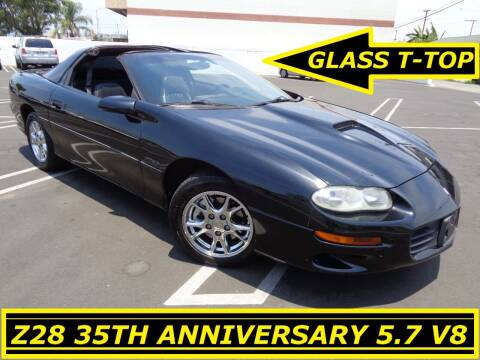 2002 Chevrolet Camaro for sale at ALL STAR TRUCKS INC in Los Angeles CA