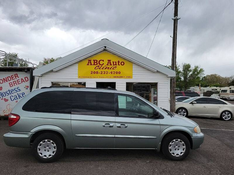 2003 Chrysler Town and Country for sale at ABC AUTO CLINIC - Chubbuck in Chubbuck ID