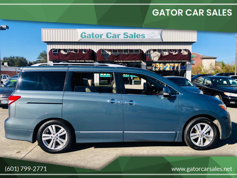 2013 Nissan Quest for sale at Gator Car Sales in Picayune MS