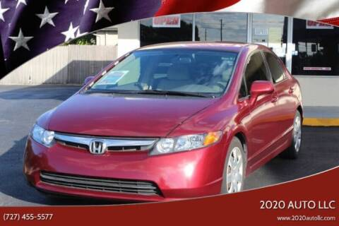 2008 Honda Civic for sale at 2020 AUTO LLC in Clearwater FL
