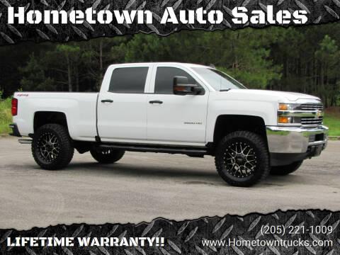 2017 Chevrolet Silverado 2500HD for sale at Hometown Auto Sales - Trucks in Jasper AL