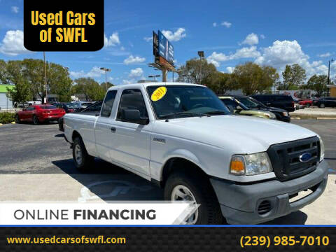 2011 Ford Ranger for sale at Used Cars of SWFL in Fort Myers FL