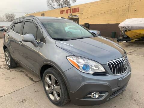 2013 Buick Encore for sale at City Auto Sales in Roseville MI