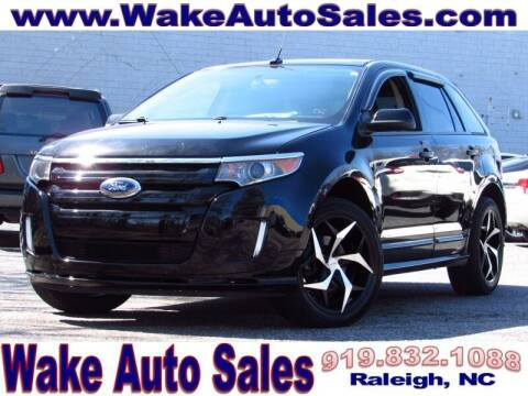 2012 Ford Edge for sale at Wake Auto Sales Inc in Raleigh NC