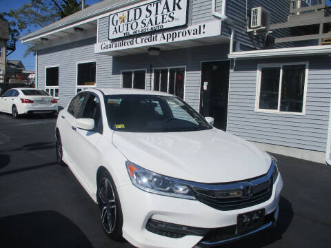 2017 Honda Accord for sale at Gold Star Auto Sales in Johnston RI