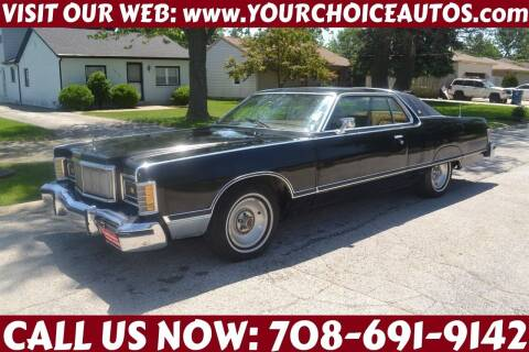 1978 Mercury Grand Marquis for sale at Your Choice Autos - Crestwood in Crestwood IL