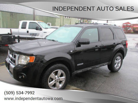 2008 Ford Escape for sale at Independent Auto Sales #2 in Spokane WA