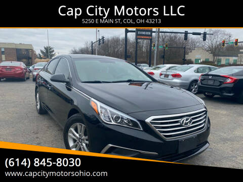 2016 Hyundai Sonata for sale at Cap City Motors LLC in Columbus OH