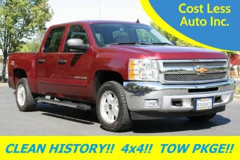 2013 Chevrolet Silverado 1500 for sale at Cost Less Auto Inc. in Rocklin CA