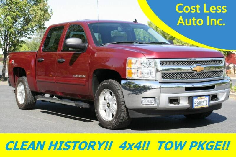 2013 Chevrolet Silverado 1500 for sale at Cost Less Auto Inc. in Rocklin CA