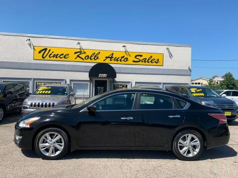 2014 Nissan Altima for sale at Vince Kolb Auto Sales in Lake Ozark MO