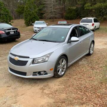 2014 Chevrolet Cruze for sale at CARZ4YOU.com in Robertsdale AL