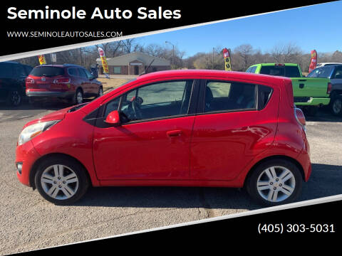 2013 Chevrolet Spark for sale at Seminole Auto Sales in Seminole OK