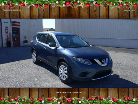 2014 Nissan Rogue for sale at J'S MAGIC MOTORS in Lebanon PA