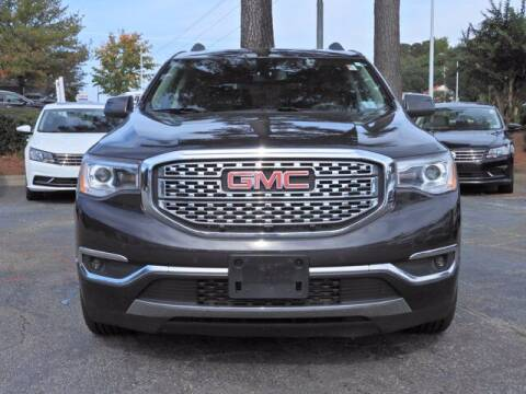2017 GMC Acadia for sale at Auto Finance of Raleigh in Raleigh NC