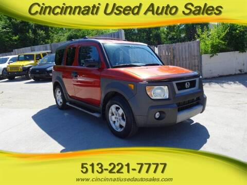 2004 Honda Element for sale at Cincinnati Used Auto Sales in Cincinnati OH