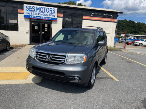 2012 Honda Pilot for sale at S & S Motors in Marietta GA