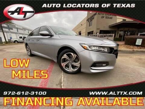 2019 Honda Accord for sale at AUTO LOCATORS OF TEXAS in Plano TX