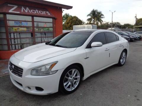 2010 Nissan Maxima for sale at Z MOTORS INC in Hollywood FL