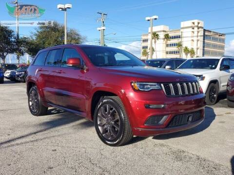 2020 Jeep Grand Cherokee for sale at GATOR'S IMPORT SUPERSTORE in Melbourne FL