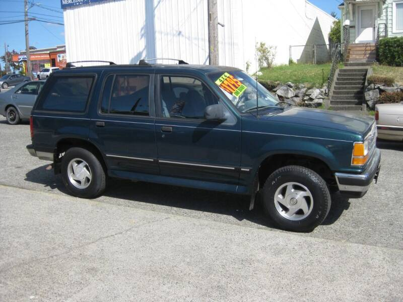 1994 Ford Explorer for sale at UNIVERSITY MOTORSPORTS in Seattle WA