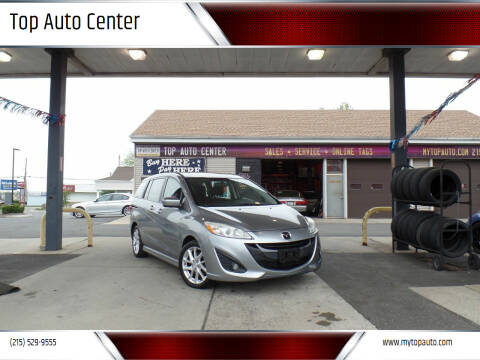 2012 Mazda MAZDA5 for sale at Top Auto Center in Quakertown PA