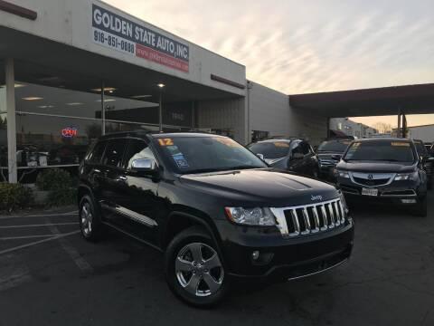 2012 Jeep Grand Cherokee for sale at Golden State Auto Inc. in Rancho Cordova CA